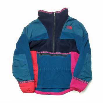 The North Face Fleece Jacket Size Large Made In USA