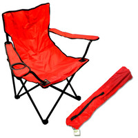 Portable Folding Chair with Drink Holder - Set of 3