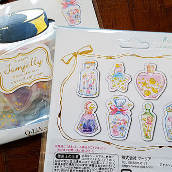 48 PCS, Perfume stickers, Chanel stickers, Scent stickers, Makeup sticker, Dress up sticker, Perfume Bottle, Sticker Flake, Qlia 6, PIC
