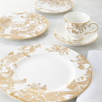 Five-Piece Gilded Forest Dinnerware Place Setting - Marchesa