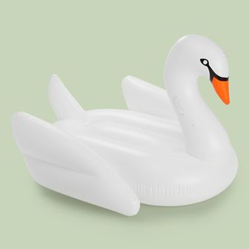 FUNBOY 'White Swan' Oversized Luxury Pool Float