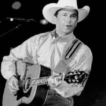 """George Strait Poster Black and White Poster 24""""x36"""""""