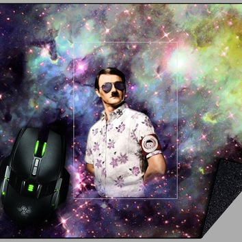 Casual Space Hitler Mousepad