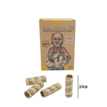 Lion Rolling Circus Pre Rolled Filters (col)