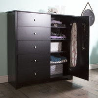 Vito 5 Drawer Combo Dresser