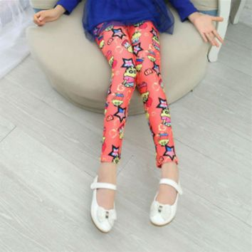 Girls Butterfly Leggings