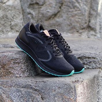 HCXX Saucony Shadow 5000 EVR  Knit  Black
