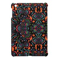 Psychadelic Doodle Garden Cover For The iPad Mini