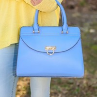 Lift Your Spirits Bag-Turquoise