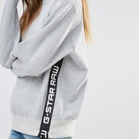 G-Star | G-Star High Neck Sweat with Logo Detail at ASOS