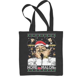 Home Malone Ugly Christmas Shopping Tote Bag