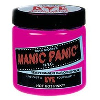 Manic Panic Cream Formula Semi, Permanent Hair Color, Hot Pink, 4 oz