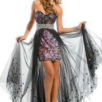 Party Time Dress 6016 Prom Dress - PeachesBoutique.com