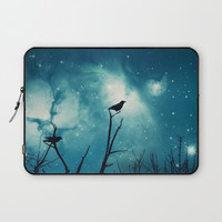 Attempted Murder At Midnight Laptop Sleeve by minx267