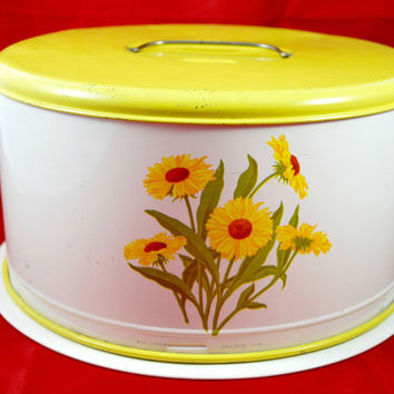 Cake Carrier and  Cut Glass Serving Plate , Cake Dome , Cake Cover , Tin Container , Cake Saver  ,