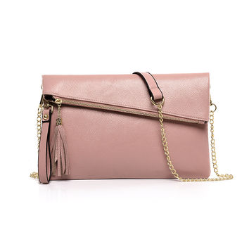 Korean Stylish Strong Character One Shoulder Multi-function Tassels Bags [4982889540]