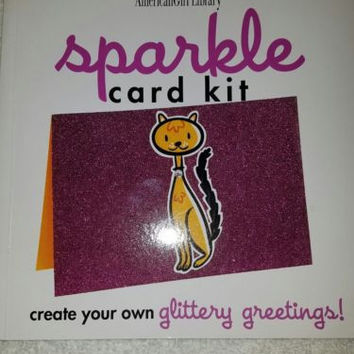 2003 American Girl Doll Book Library Sparkle Card Kit BOOK ONLY