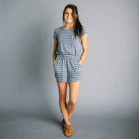 Elmhurst Romper - Navy | Called To Surf