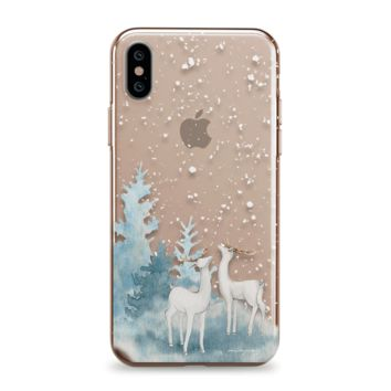 Snowfall - iPhone Clear Case