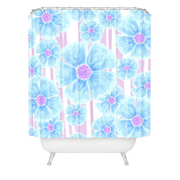 Lisa Argyropoulos Watercolor Spring Shower Curtain