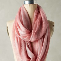 Cameo Pink Knit Infinity Scarf