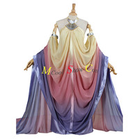 Star Wars Adults Padmé Naberrie Amidala Cosplay Costume Chiffon Dress Full Set