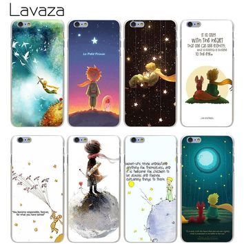 Lavaza High Quality Phone Cases The Little Prince Hard Transparent Cover Case for iPhone X 10 8 7 6 6S Plus 5 5S SE 5C 4 4S