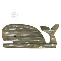 WEATHERED WOOD WHALE