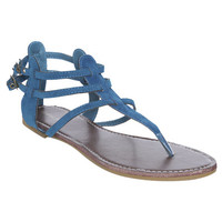 Faux Suede Gladitor Sandal | Shop Shoes at Wet Seal