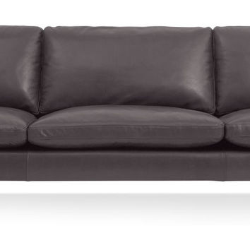 New Standard Leather Sofa 104-Inch