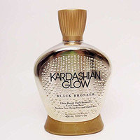 Kardashian Glow Black Bronzer New Tanning Lotion 13.5 Fl. Oz Free of Parabens, Hemp, Gluten, Aloe, Silicone and Sulfates