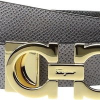Tagre™ Salvatore Ferragamo Women's 23A565 Urban Grey Belt