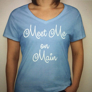 Main Street Blue Ladies' Tee PREORDER