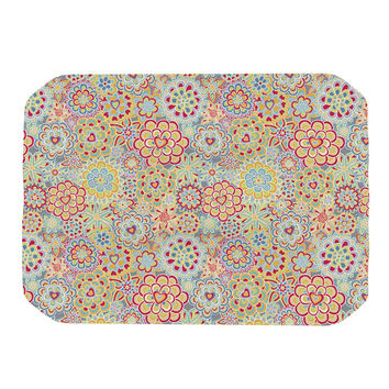 "Julia Grifol ""My Happy Flowers in Red"" Place Mat"