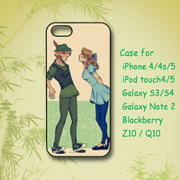 Peter Pan and Wendy - Galaxy note 2 , Samsung Galaxy S3 case, galaxy  S4 case, iPhone 4 Case, iphone 4S case,iPhone 5 Case,