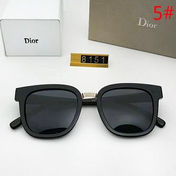 DIOR Fashion New Polarized Women Travel Sunscreen Leisure Eyeglasses Glasses