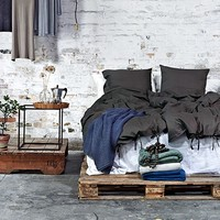 Bed Linen - Dark Grey