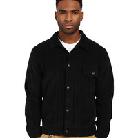 HUF Type 1 Corduroy Jacket Black - 6pm.com