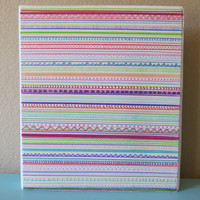 Hand Drawn Sharpie 3-Ring Binder/Notebook