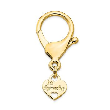 Le Amiche Gold-tone Keyring Connecting Clasp
