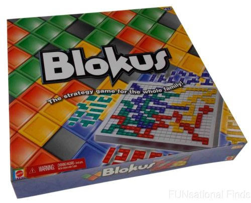 Blokus Board Game Strategy Mattel Whole From