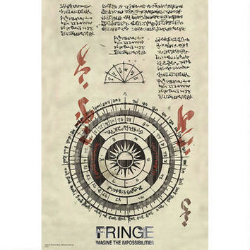 Fringe Scroll Poster | WBshop.com | Warner Bros.