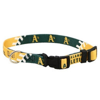 Oakland Athletics Dog Collar - Medium