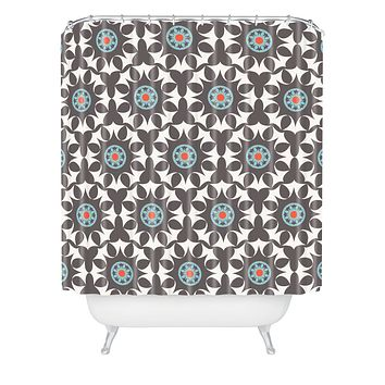 Heather Dutton Amirah Dusk Shower Curtain
