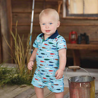 Fish Polo One-Piece