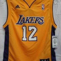 Shannon Brown Los Angeles Lakers Yellow NBA Youth Revolution 30 Replica Jersey