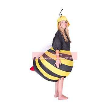 JYZCOS  Inflatable  Bumble  Costumes  Women  Halloween