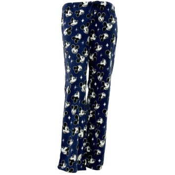 Mickey Mouse - Face Fleece Juniors Sleep Pants