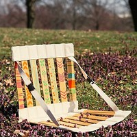 Free People Handpainted Folding Chair