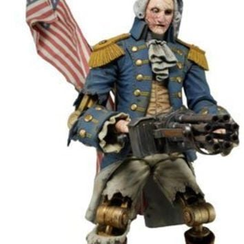 "George Washington ""Heavy Hitter"" 9"" Bioshock Infinite Action Figure [Neca]"